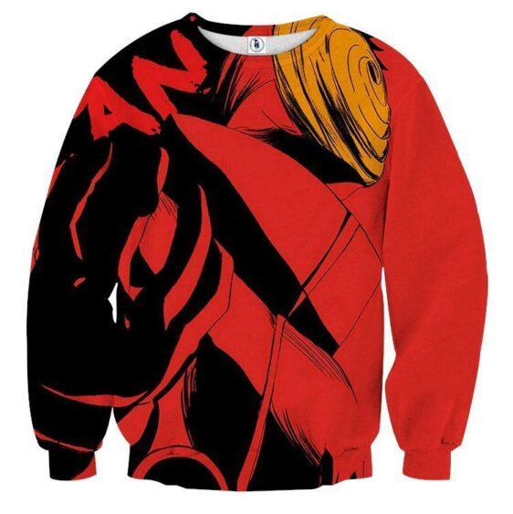 Naruto Akatsuki Obito Mask Dope Design Winter Sweatshirt