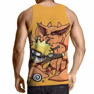 Naruto And His Fox Fanfiction Japanese Anime Cool Tank Top