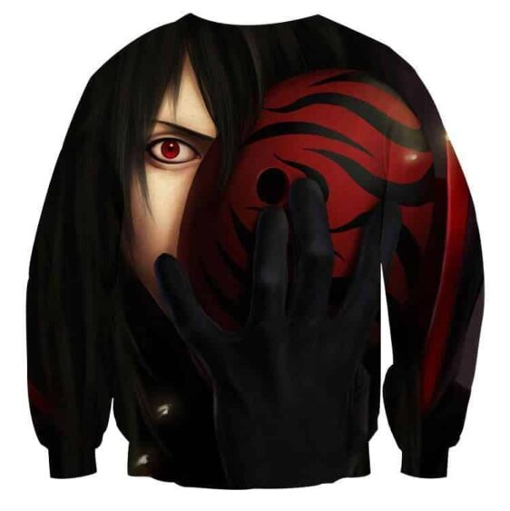 Naruto Anime Madara Mask Fantasy Artwork Design Sweatshirt