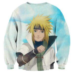 Naruto Father Minato Namikaze Legendary Anime Sweatshirt