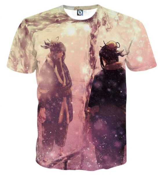 Naruto Haku Ice Ninja Cool Style Anime Theme Trendy T-Shirt