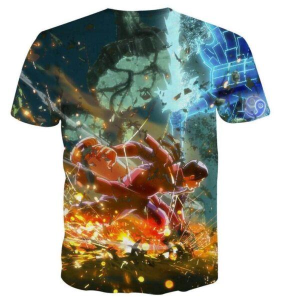 Naruto Hashimara Fight Susanoo Ultimate Ninja Game T-Shirt