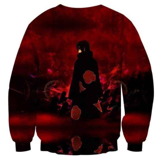 Naruto Itachi Uchiha Akatsuki Ninja Anime Style Sweatshirt