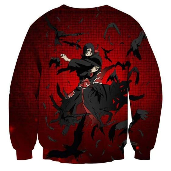 Naruto Itachi Uchiha Magic Jutsu Akatsuki Theme Sweatshirt