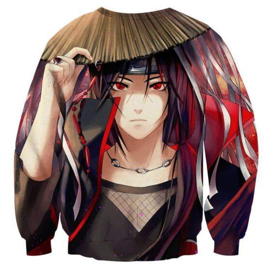 Naruto Japan Anime Female Itachi Fan Art Design Sweatshirt