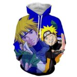 Naruto Japan Anime His Father Protective Amazing Hoodie