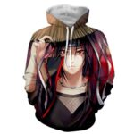 Naruto Japan Anime Itachi Uchiha Amazing Brilliant Hoodie