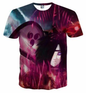 Naruto Japan Anime Madara Uchiha Awesome Hero Cool T-Shirt
