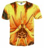 Naruto Japan Anime Sage Mode Flaming Amazing Dope T-Shirt