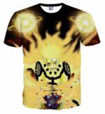 Naruto Japan Anime Six Paths Sage Mode Powerful Cool T-Shirt