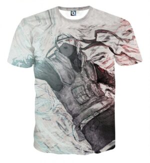 Naruto Japanese Anime Kakashi Hatake Fan Art Cool T-Shirt