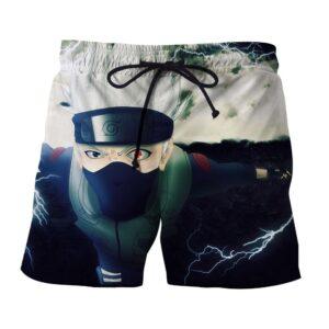 Naruto Kakashi Dual Chidori Ultimate Ninja Storm Shorts