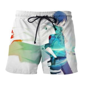 Naruto Kakashi Female Version Chidori Fan Art Cool Shorts
