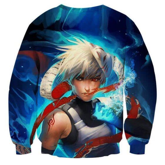 Naruto Kakashi Hatake Anbu Ninja Fan Art Design Sweatshirt