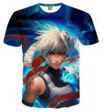 Naruto Kakashi Hatake Anbu Ninja Fan Art Design T-Shirt