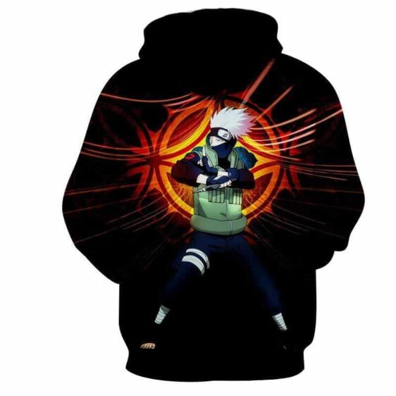 Naruto Kakashi Hatake Copy Ninja Cool Streetwear Hoodie