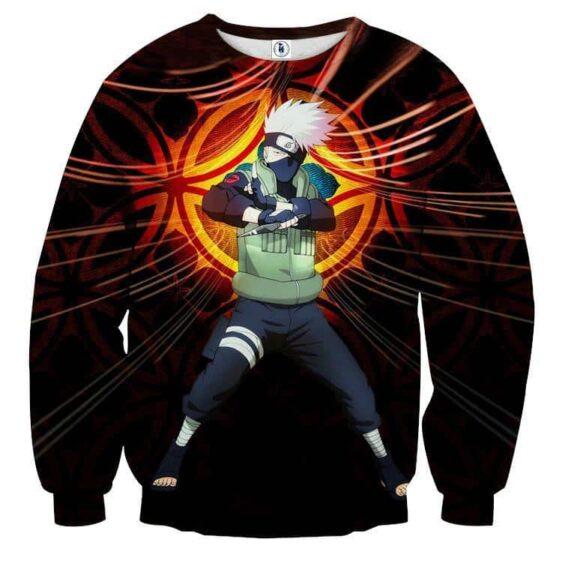 Naruto Kakashi Hatake Copy Ninja Cool Symbol Sweatshirt