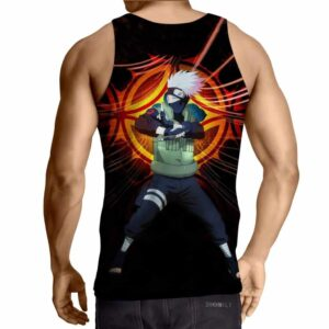 Naruto Kakashi Hatake Copy Ninja Cool Symbol Tank Top