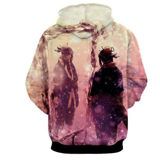 Naruto Manga Haku Ice Ninjutsu Streetwear Design Hoodie