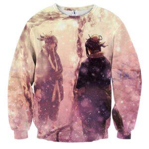Naruto Manga Haku Ice Ninjutsu Streetwear Design Sweatshirt