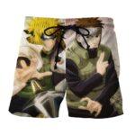 Naruto Minato feat Yamato Great Ninja Anime Summer Shorts