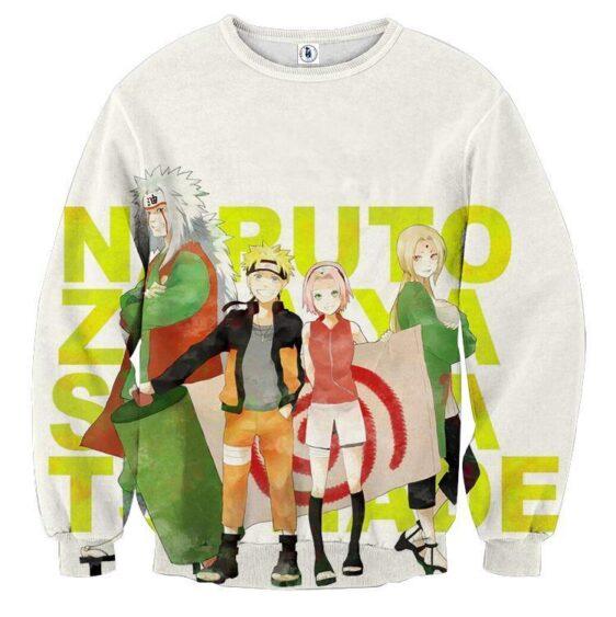 Naruto Sakura Jiraiya Tsunade Cartoon Style Sweatshirt