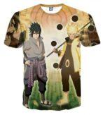 Naruto Sasuke Legendary Ninjas Sage Mode Dope Anime T-Shirt