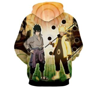 Naruto Sasuke Legendary Ninjas Sage Mode Dope Design Hoodie