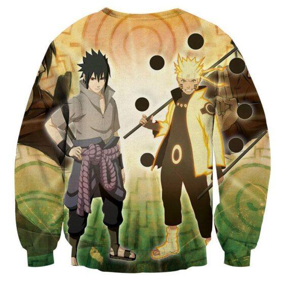 Naruto Sasuke Legendary Ninjas Sage Mode Dope Sweatshirt