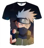 Naruto Shinobi War Third Division Commander Cool T-Shirt