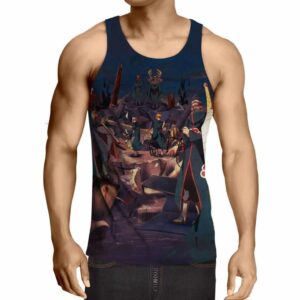 Naruto Shippuden Akatsuki Notorious Gang Cool Tank Top