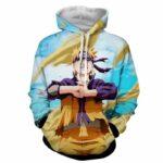 Naruto Shippuden Fan Art Style Full Print Winter Hoodie