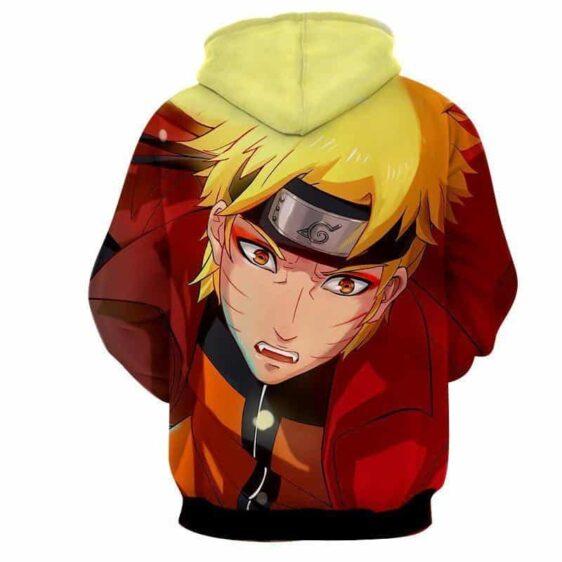 Naruto Shippuden Handsome Portrait Realistic Fan Art Hoodie