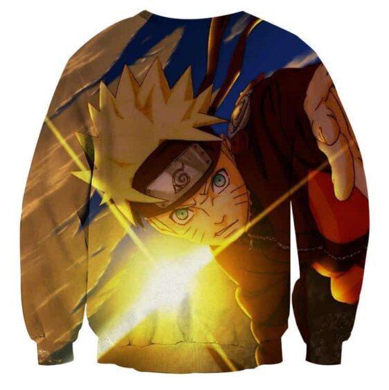 Naruto Shippuden Hero Come Back Theme Manga Dope Sweatshirt