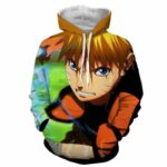 Naruto Shippuden Japan Awesome Anime Full Print Hoodie
