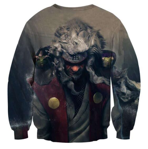 Naruto Shippuden Jiraiya Toads Sage Mode Dope Sweatshirt