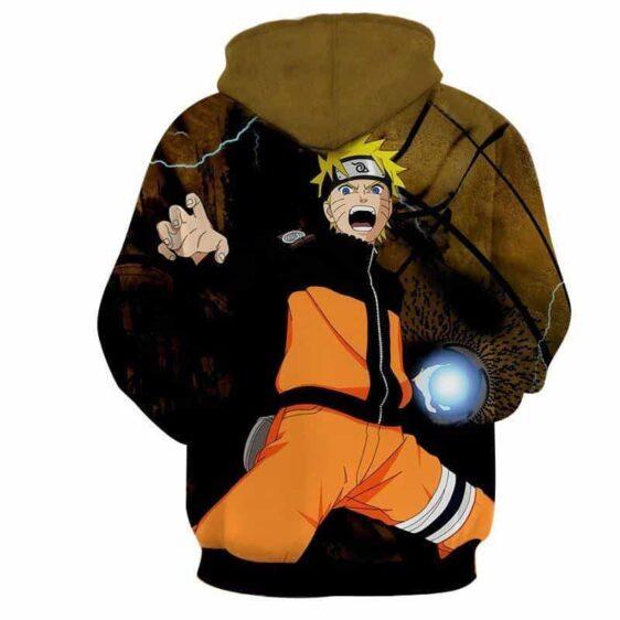 Naruto Shippuden Ninja Hero Rasengan Cool Style Hoodie