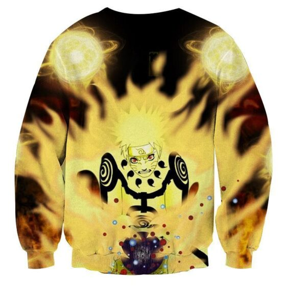 Naruto Shippuden Sage Mode Energy Blast Skill Sweatshirt