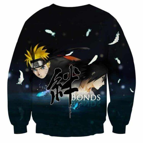Naruto Shippuden Sasuke Bond Friendship Cool Sweatshirt