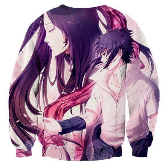 Naruto Shippuden Sasuke Uchiha Romantic Anime Sweatshirt