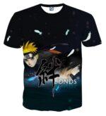 Naruto Shippuden The Movie Bonds Anime Amazing T-Shirt