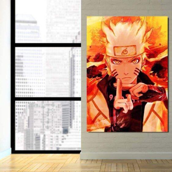 Naruto Six Paths Sage Mode Shadow Clone Technique 1pc Canvas