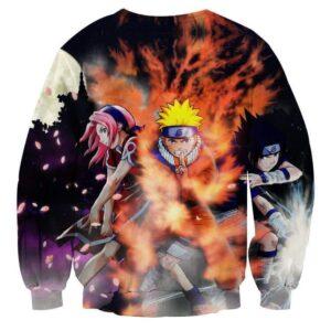 Naruto Team 7 Member Ninja Theme Streetwear Sweatshirt