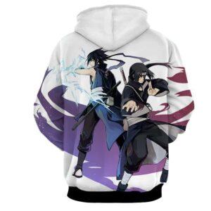Naruto Uchiha Brothers Itachi Sasuke Cool Manga Hoodie