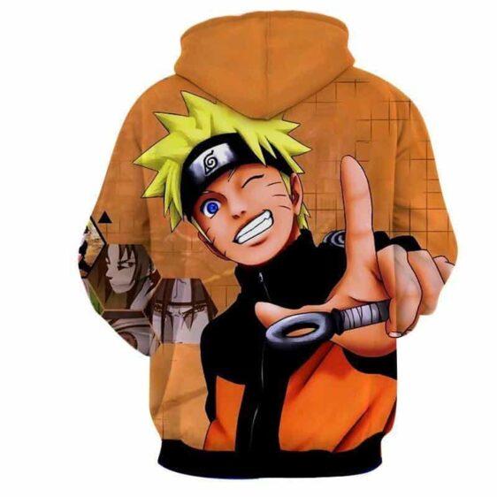 Naruto Uzumaki Japanese Anime Smiling Cute Cool Hoodie
