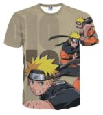 Naruto Uzumaki Shippuden Japan Anime Powerful Cool T-Shirt