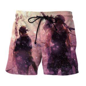 Naruto Zabuza Haku Rain Ninja Cool Style Summer Shorts