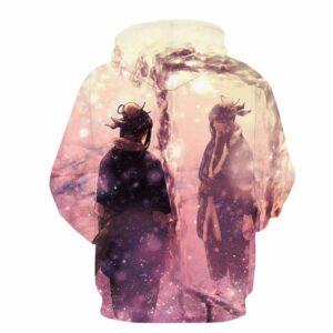 Naruto Zabuza Sword Haku Mirror Mask Ice Mirror Art Anime Hoodie