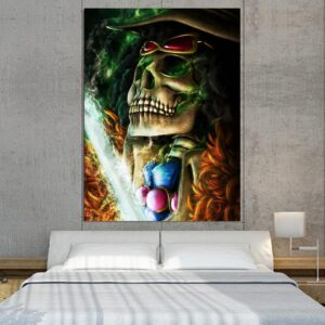 One Piece Brook Soul King Undead Pirate 1pc Wall Art Decor