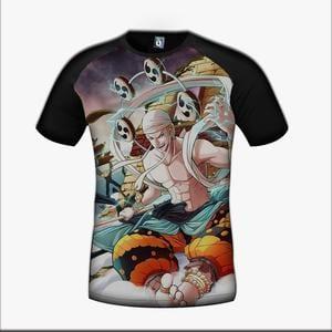 One Piece Enel God Skypiea Villain Character Color Vibrant Design T-Shirt